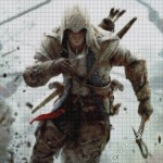 Assassin's Creed 3 - Connor mosaic from Marble