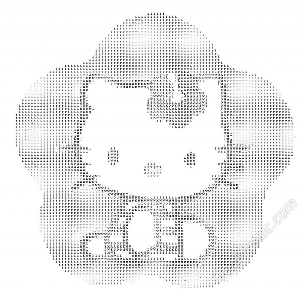 Hello Kitty ASCII Art