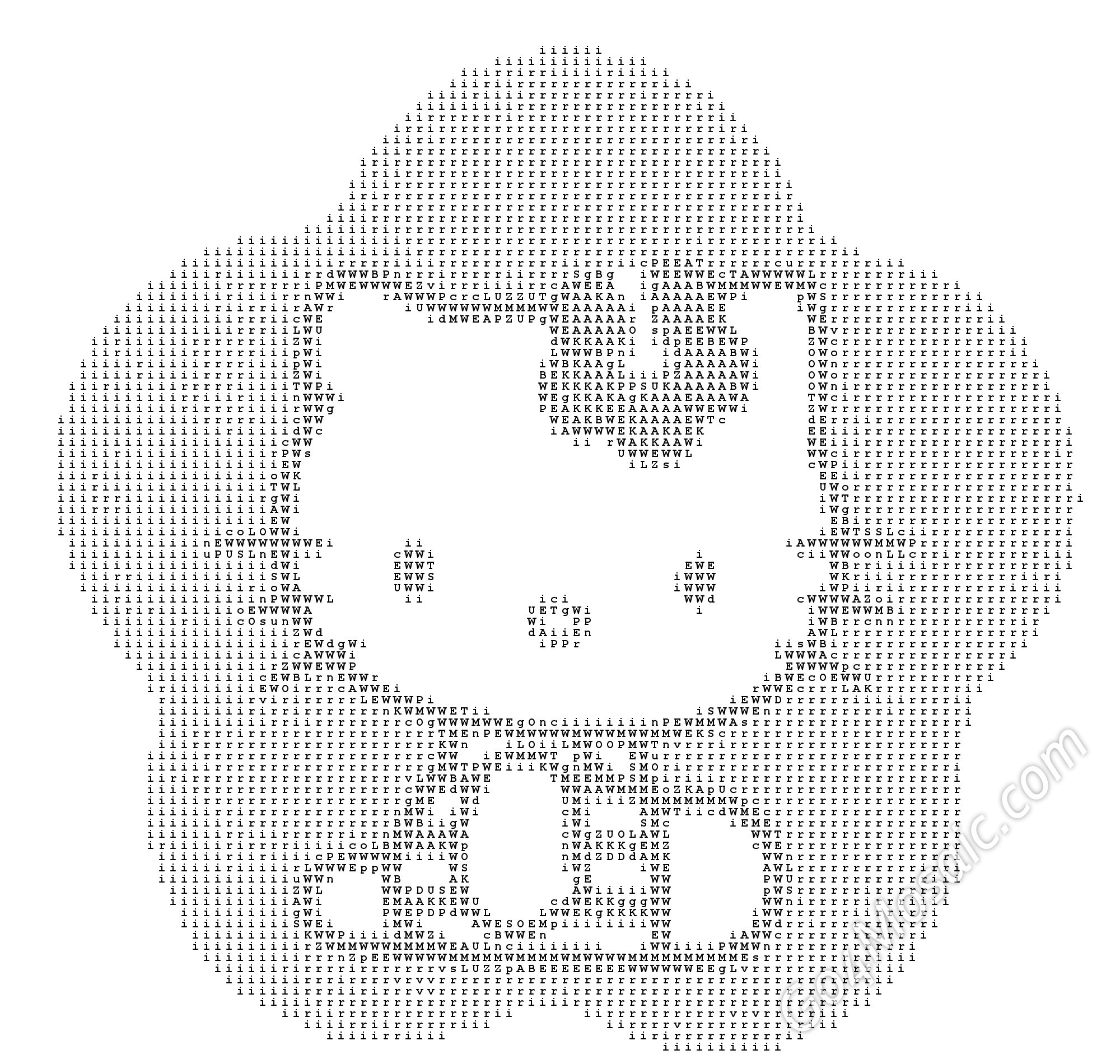 Hello Kitty ASCII Art