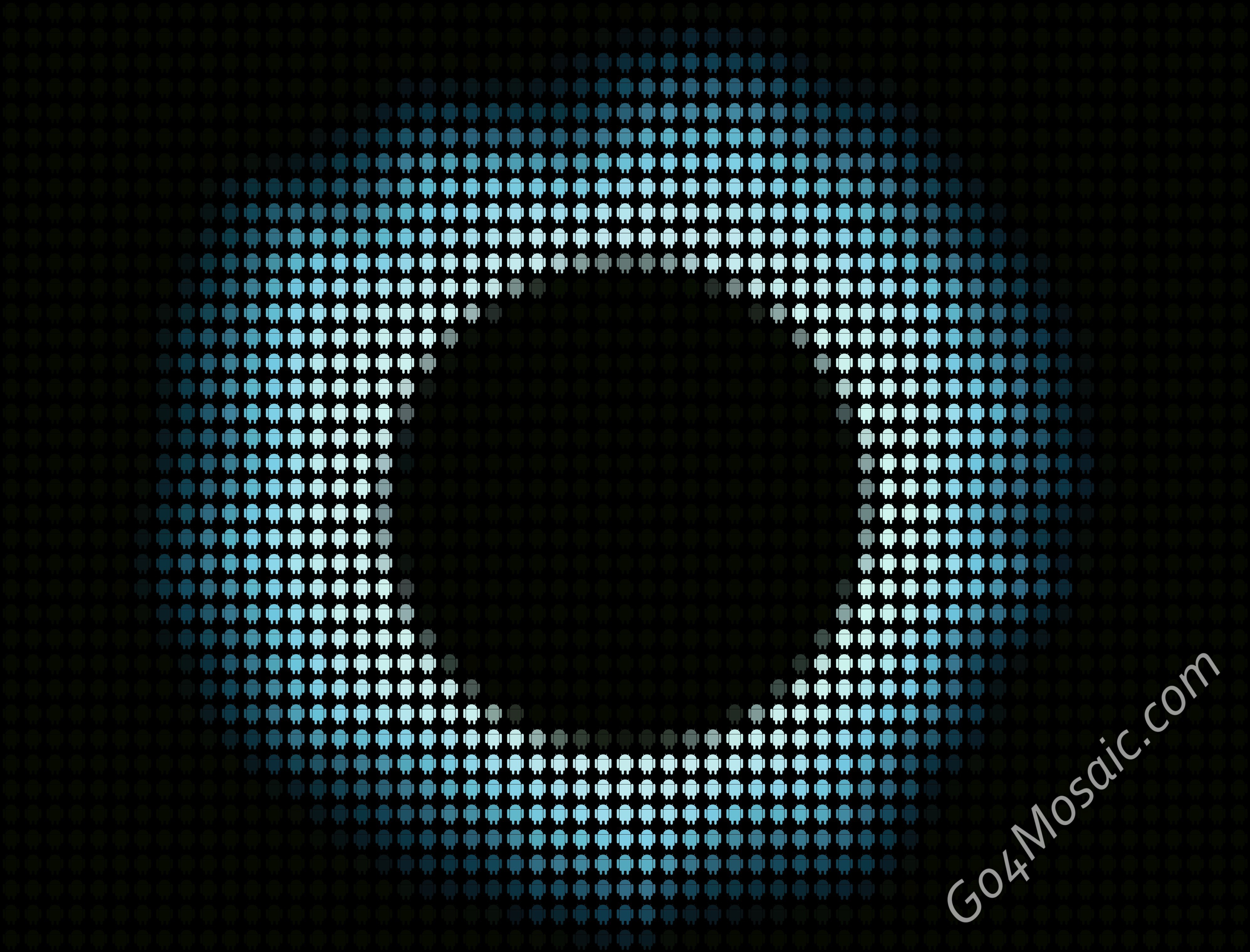 Solar Eclipse mosaic from Androids