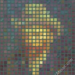 Vincent van Gogh mosaic from postits 2000px