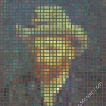 Vincent van Gogh mosaic from postits 3200px