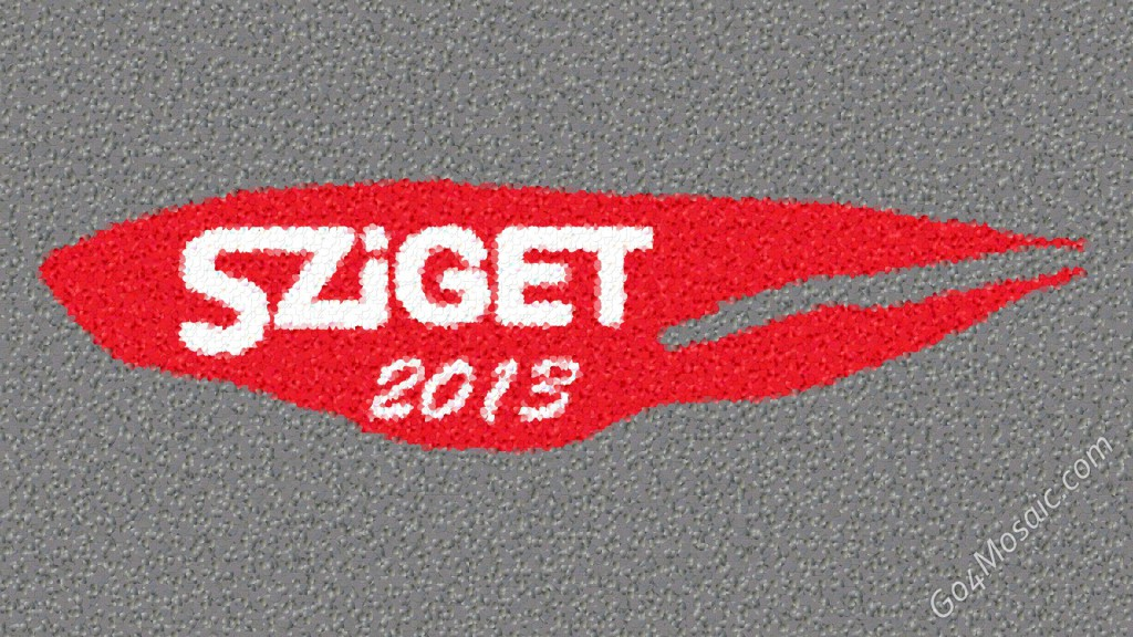 Sziget 2013 mosaic from 53284 Guitar Picks