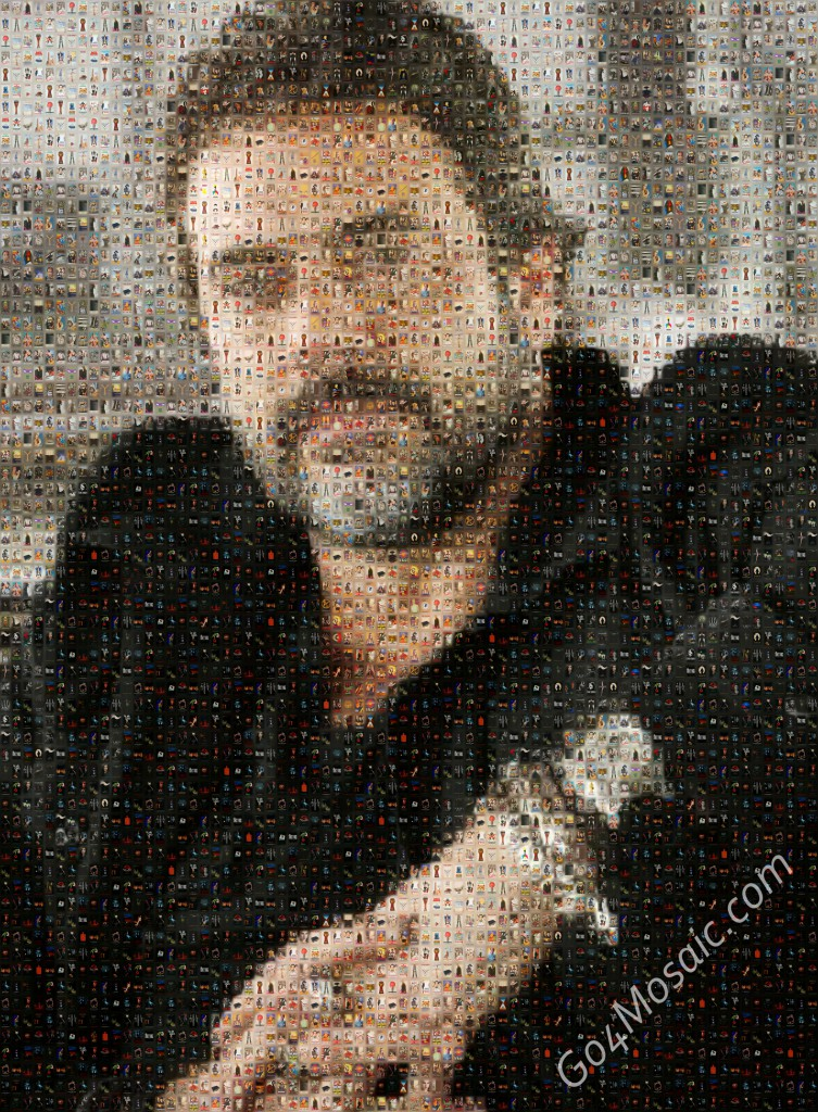Jeffrey Dean Morgan mosaic from Movie Posters